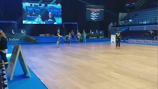 CAMPIONATI ITALIANI ASSOLUTI 2019 Disco Dance  OV16 M Rosario Ciriano