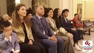 Nozze D'ARGENTO ''Tino Fimiani e Teresa Perazzo '' Lentiscosa 29 ottobre 2019