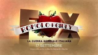 Romolo + Giuly: la guerra mondiale italiana, il trailer della serie FOX