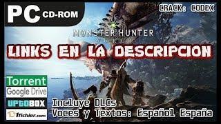 "Monster Descargar Hunter World ""CODEX"" Full Español (GDrive/Torrent/1fichier/Uptobox)"