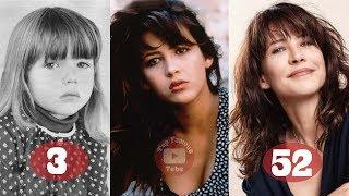 Sophie Marceau | Transformation From 3 To 52 Years Old