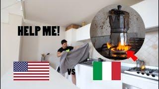 AMERICAN FAILS at making ITALIAN COFFEE