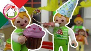 Playmobil film italiano Il Compleanno dei gemelli - Famiglia Hauser - cartoni per bambini
