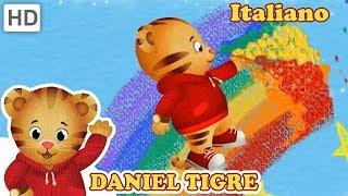 Daniel Tiger in Italiano ???? Amo i Pastelli! | Video per Bambini