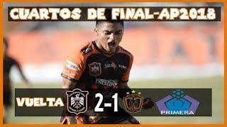 CD Águila [2] vs. CD Audaz [1] [CDF/Vuelta] FG+RADIO : 12.1.2018: ES Apertura 2018