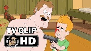 "PARADISE PD Official Clip ""Kevin Shoots Chief's Balls"" (HD) Netflix Comedy Series"