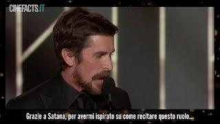 Il discorso di Christian Bale ai Golden Globes 2019 #CineFacts