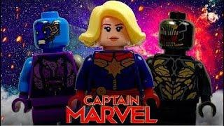Funny Video | Lego Captain Marvel: Invasion! [Blu Ep. 8] | Lego Stop Motion