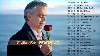 Andrea Bocelli  SUS MEJORES CANCIONES (MIX DE EXITOS ROMANTICOS)