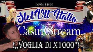 CASINO STREAM  nr.104  / VOGLIA DI X1000  / CASINO ITALIANO /