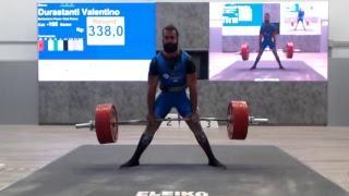 IV Campionato Italiano Classic Open di Powerlifting Uomini cat. - 105  kg. prova di stacco