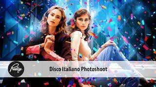 Disco Italiano Photoshoot