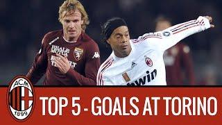 AC Milan Top 5 Goals Away to Torino
