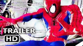 SPIDER-MAN INTO THE SPIDER VERSE Official Trailer (2018) Animated Movie HD