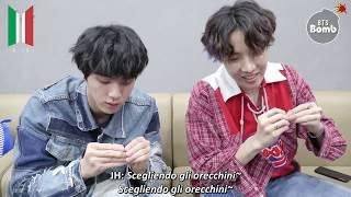 [SUB ITA] 181211 BANGTAN BOMB - Jin & j-hope Play with Earrings - BTS (방탄소년단)