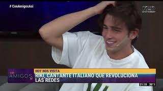 Riki, cantante italiano, en Con amigos así | Entrevista completa