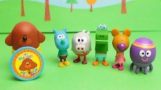 HEY DUGGEE - Il set di 6 Personaggi  [Apertura giochi in italiano]