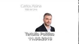 Tertulia Política con Carlos Alsina 11.06.18 La crisis migratoria en el Mediterráneo