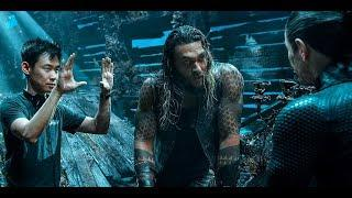Aquaman - Bloopers, B-Roll, & Behind the Scenes(2018) - Jason Momoa & Amber Heard