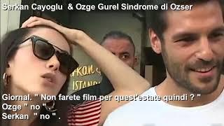 serkan e ozge , intervista all'uscita del ristorante con i sub italiano