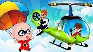 Gli Incredibili 2 By The Incredibles 2 and Os Incríveis 2 ???? Cartone Animato Per Bambini ???? Ep #