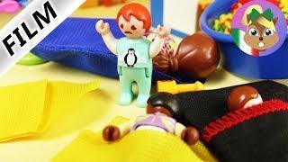 Playmobil film italiano | NOTTE ALL'ASILO- perso un bambino | famiglia Vogel