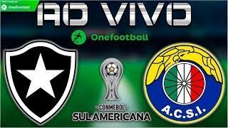 Botafogo 1x1 Audax Italiano | Copa Sul-Americana 2018 | Primeira Fase | BOTAFOGO CLASSIFICADO!