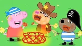 Peppa Pig Italiano - Felice Halloween ???? - Pirata  - Cartoni Animati