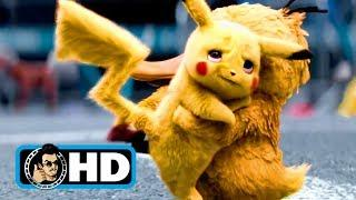 DETECTIVE PIKACHU - All Clips, Trailers & B-Roll (2019) Pokemon