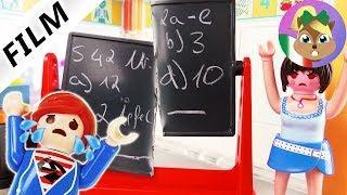 Playmobil film italiano|Juilan rompe la lavagna a scuola! Julian rovina la classe| famiglia Vogel