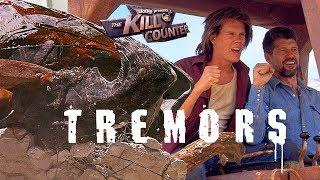 TREMORS - The Kill Counter (1990) Kevin Bacon, Fred Ward, Ron Underwood monster movie