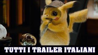 POKÉMON Detective Pikachu - Tutti i Trailer Italiani (2019)