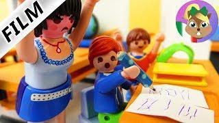 Playmobil film italiano|Juilan scoperto a copiare i compiti! Guai a scuola| famiglia Vogel