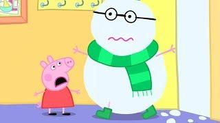 Peppa Pig Italiano ❄️ Una Nevosa Giornata Al Mare ❄️ Collezione Italiano - Cartoni Animati