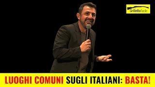 Luoghi Comuni sugli Italiani: BASTA! | Sergio Giuffrida *STAND UP COMEDY*