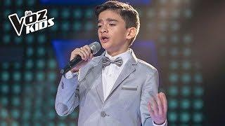 Jorge cantó Volare de D. Modugno y F. Migliacci - Rescates | La Voz Kids Colombia 2018