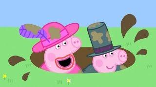 Peppa Pig Italiano   Vestire come mamma e papà!   Compilation Episodi Completi   Cartoni Animati