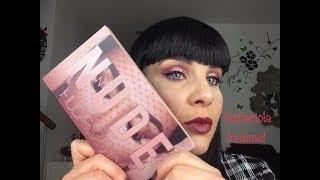 Huda Beauty NEW NUDE PALETTE. Swatches, Comparazioni, Preview e Make up Tutorial