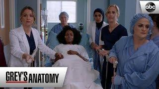 Jo Supports a Patient - Grey's Anatomy Season 15 Episode 19
