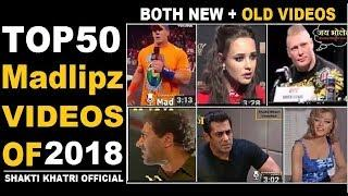 Top 50 Haryanvi Madlipz Funny Dubbing Videos By Shakti Khatri Official   HSSC Group D Exam