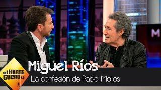 Pablo Motos le confiesa a Miguel Ríos lo que sintió al escuchar su nuevo disco - El Hormiguero 3.0