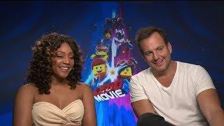 Will Arnett & Tiffany Haddish talk The LEGO Movie 2