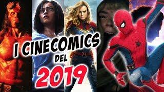 CINECOMICS 2019 | Tutti i Film Supereroi in Uscita | Da Avengers 4 a Joker
