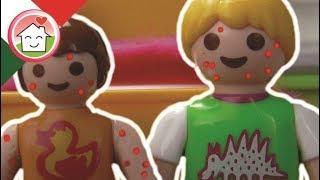 Playmobil film italiano Varicella - Famiglia Hauser - cartoni per bambini