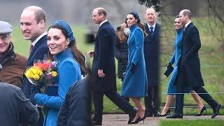 Kate Middleton First Appearance Of 2019 In Catherine Walker Coat At Church In Sandringham