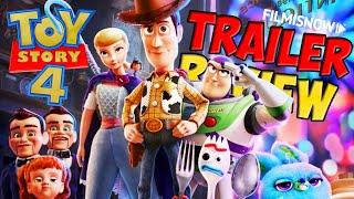 TOY STORY 4 | Trailer Review del film animato Disney Pixar