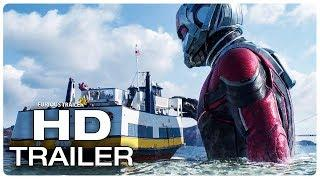 Ant Man and the Wasp Trailer #2 (2018) Ant Man 2 Superhero Movie Trailer HD