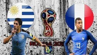 Uruguai x França (06/07/2018) COPA DO MUNDO RUSSIA 2018 - Quartas De Final [BOMBA PES V.10]