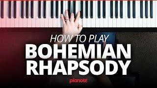 Bohemian Rhapsody Piano Tutorial (Queen)