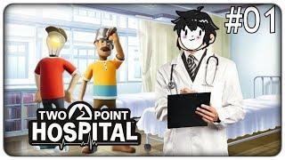COSTRUIAMO IL MIGLIOR OSPEDALE AL MONDO | Two Point Hospital - ep.01 [ITA]